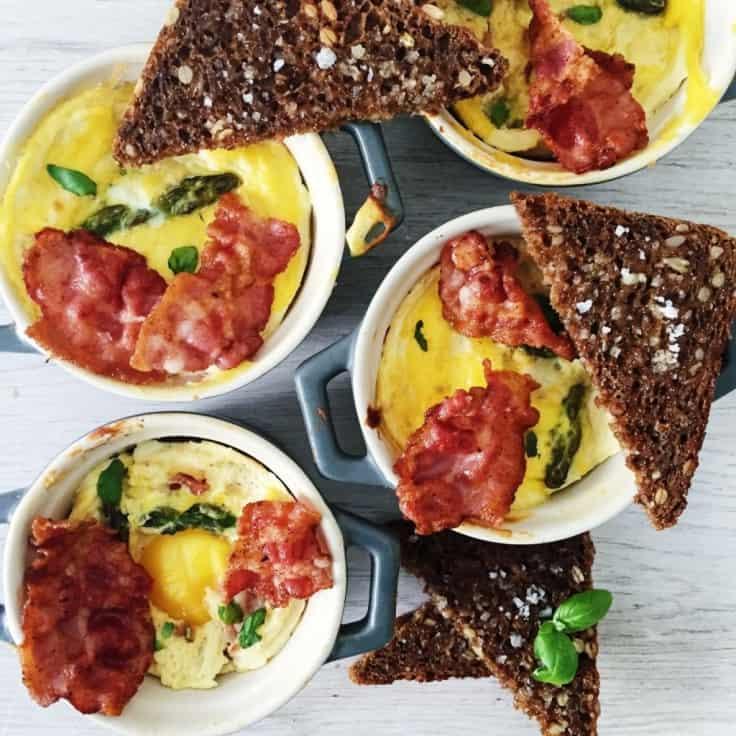 Morgenmad med æg – æg i cocotte