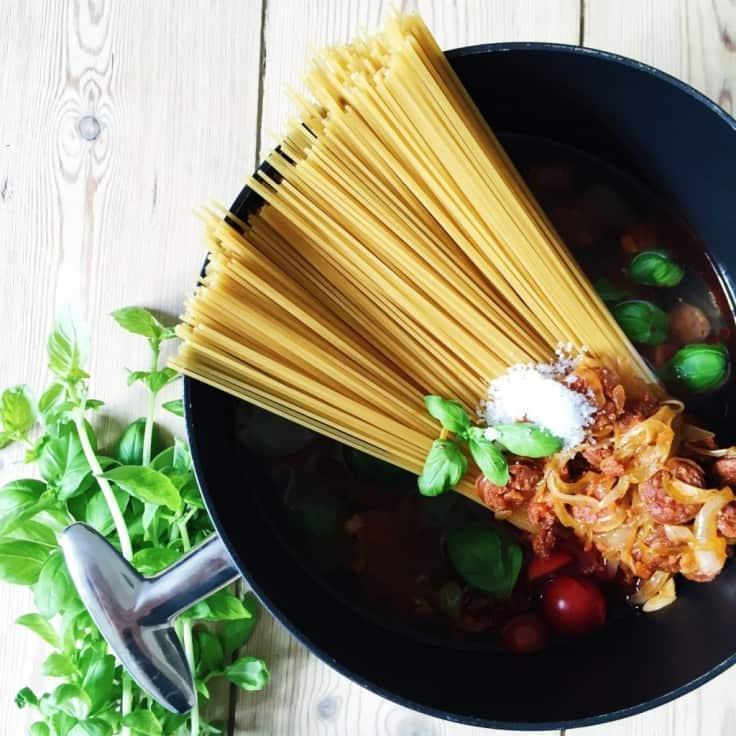 One pot pasta – opskrift på nem pastaret
