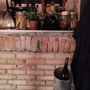 Sylteglas på restaurant mmoks