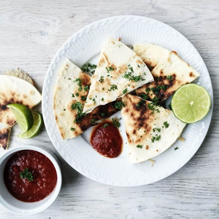 Quesadillas – en mexicansk specialitet