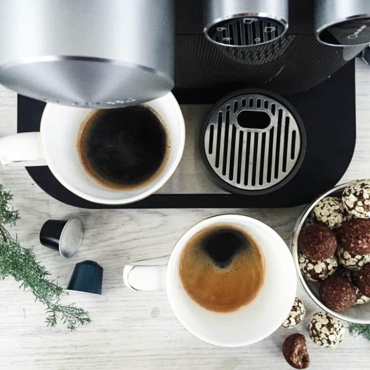 Vinderen af Nespresso kaffemaskinen blev..