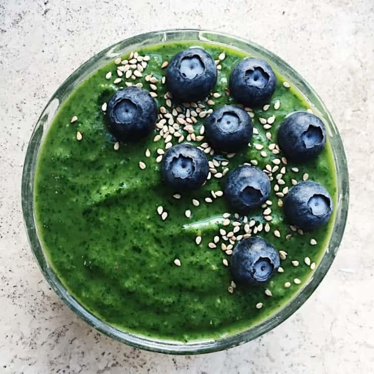 Grøn smoothie – den bedste greenie