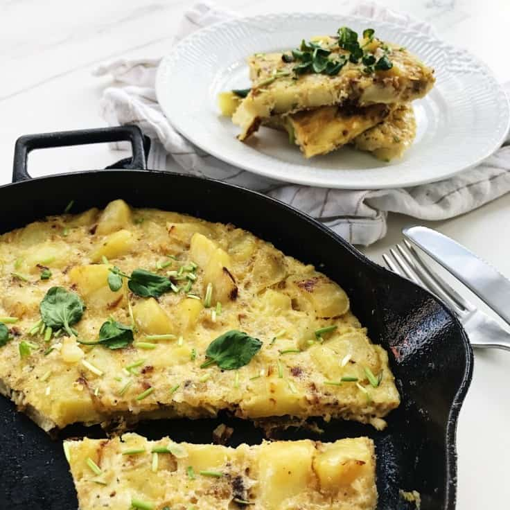 Spansk tortilla – opskrift på spansk æggekage