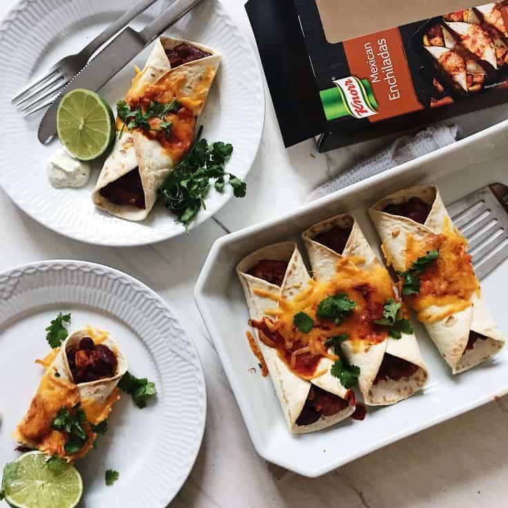 Knorr's verdensretter, mexicanske enchiladas