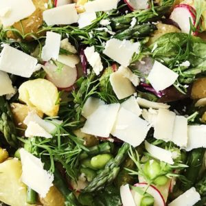 Fransk inspireret kartoffelsalat
