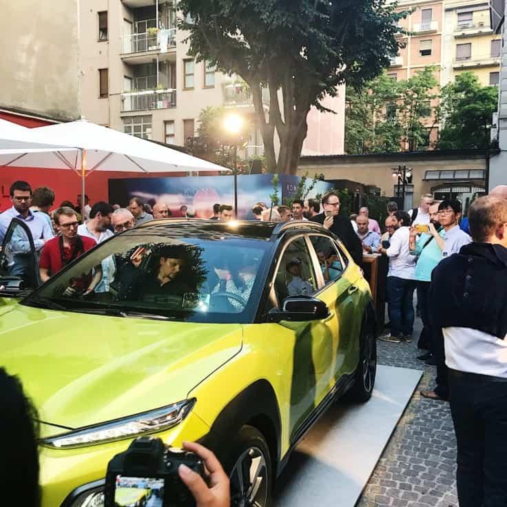 Hyundai Kona – fræk og vovet ligesom Milano