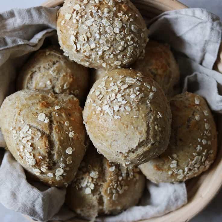 Grovboller – opskrift på sunde boller