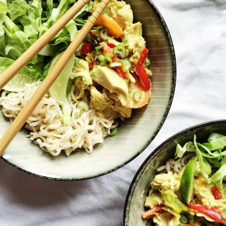 Asiatisk kylling i karry