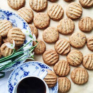 Nødde småkager