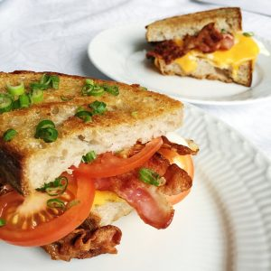 Sandwich med bacon