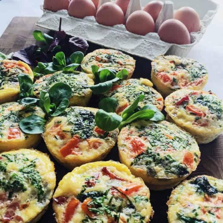 Æggemuffins – sunde og velsmagende