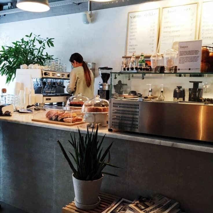 Den lille smalle – Byens bedste kaffe