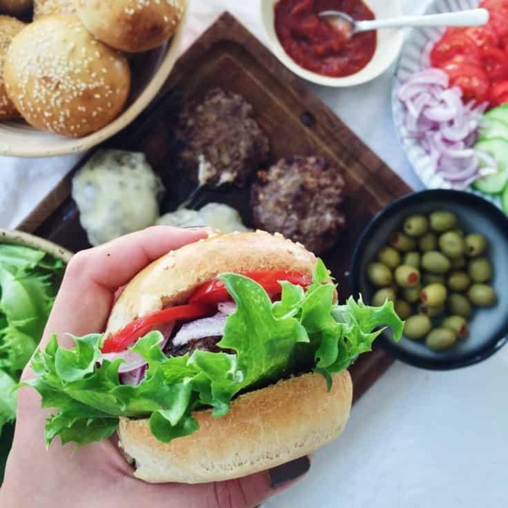 Burgerbøf – hjemmelavet burger