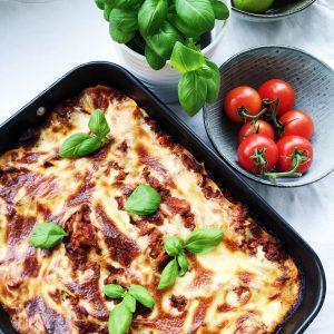 Lasagne med bechamel