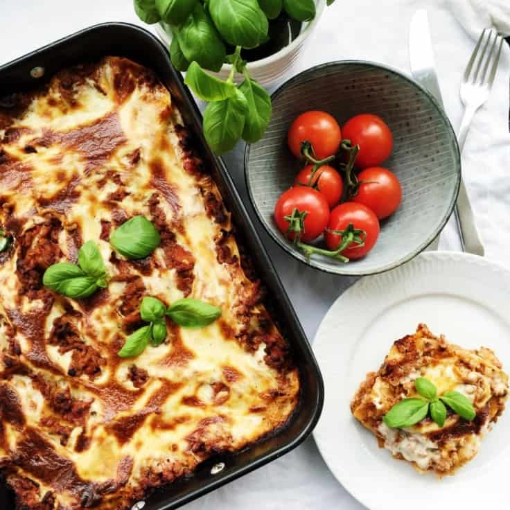 Lasagne – den traditionelle
