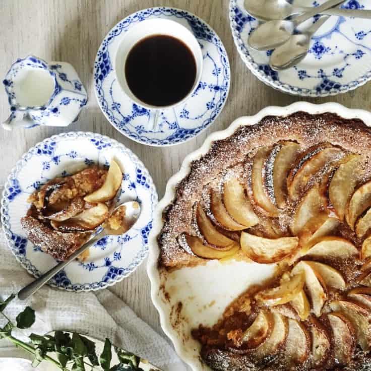 Æbletærte – verdens nemmeste tærte