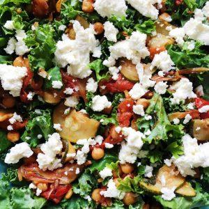 Grønkåls salat