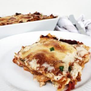 Grøntsags lasagne