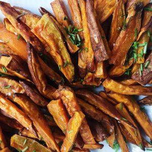 Sødekartoffel Fritter Lækre Sweet Potato Fries Maria Vestergaard