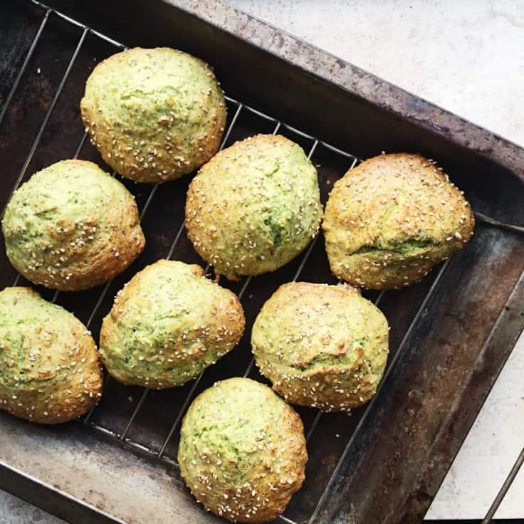 Boller med broccoli