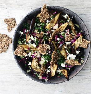 Vinter salat med kål