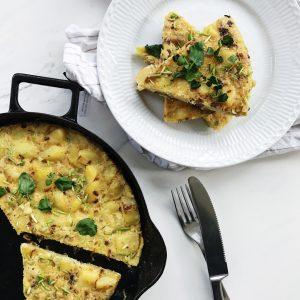 Spansk tortilla med kartofler