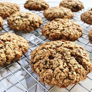 Cookies med havregryn
