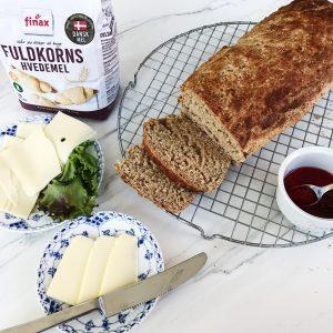 Brød med fuldkorn