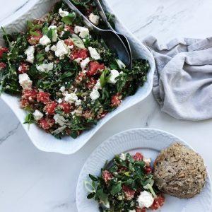 Sommer grøntsager og salater