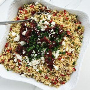 Salat med couscous