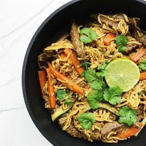 wok grøntsager