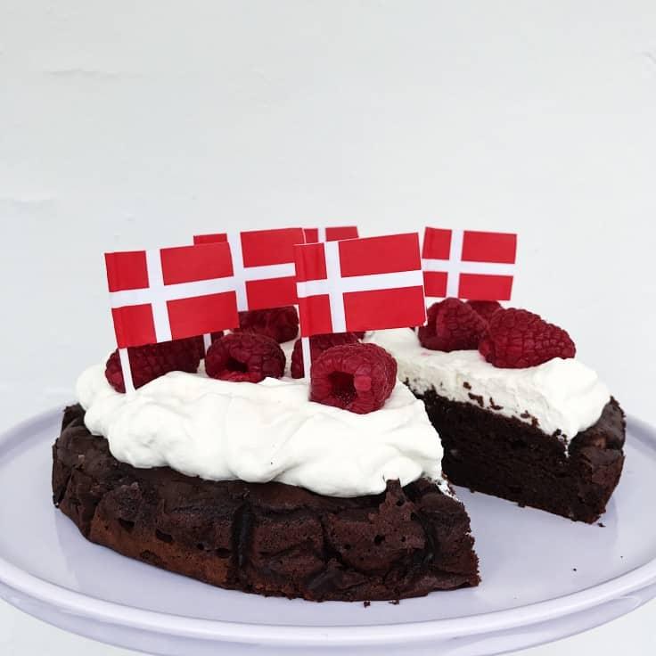 Sund kage – perfekt til børnefødselsdag
