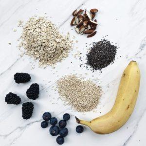 Ingredienser til morgengrød
