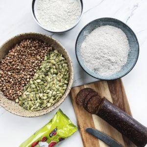 Ingredienser til rugbarer