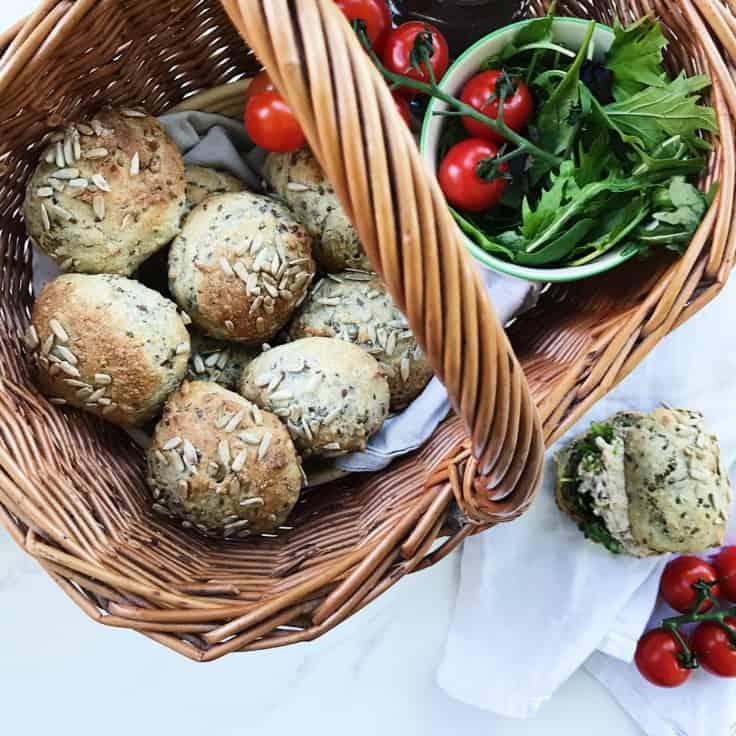 Grødboller – perfekte som sandwichboller