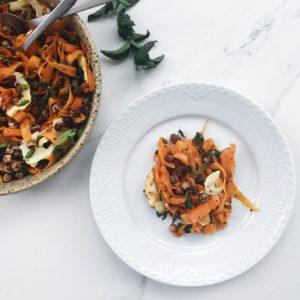 Opskrift på gulerodssalat