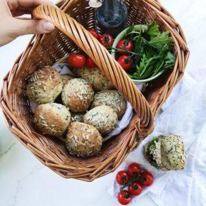 Grødboller til madpakke
