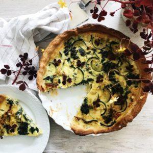 Tærte med grøntsager