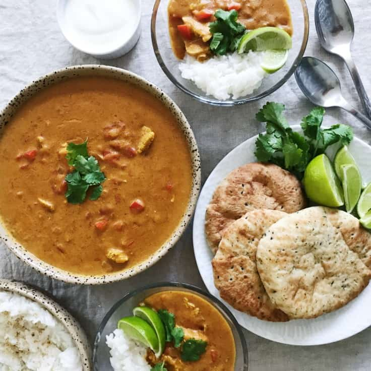 Indisk curry – opskrift med kylling