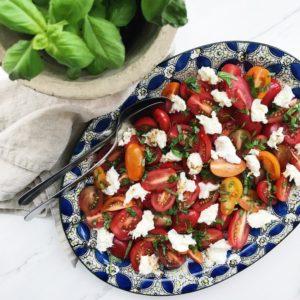 Opskrift tomatsalat