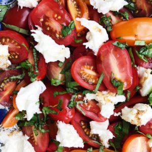 Tomatsalat med tomater