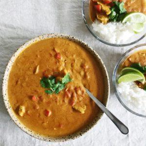 Hjemmelavet indisk curry