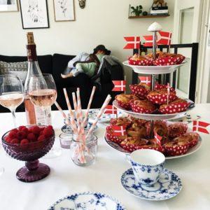 Frugtsnegle med hindbær