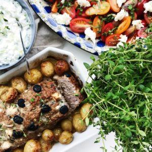 Opskrift græsk farsbrød