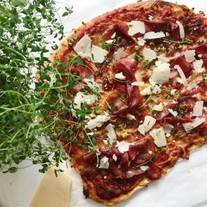Fuldkorns pizzabund
