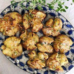 Knuste kartofler ingredienser