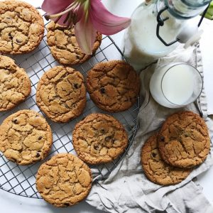 Cookies med chokolade