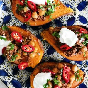 Bagt sødekartoffel