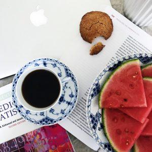Kaffe og medicinbøger