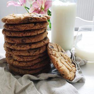 cookies og mælk